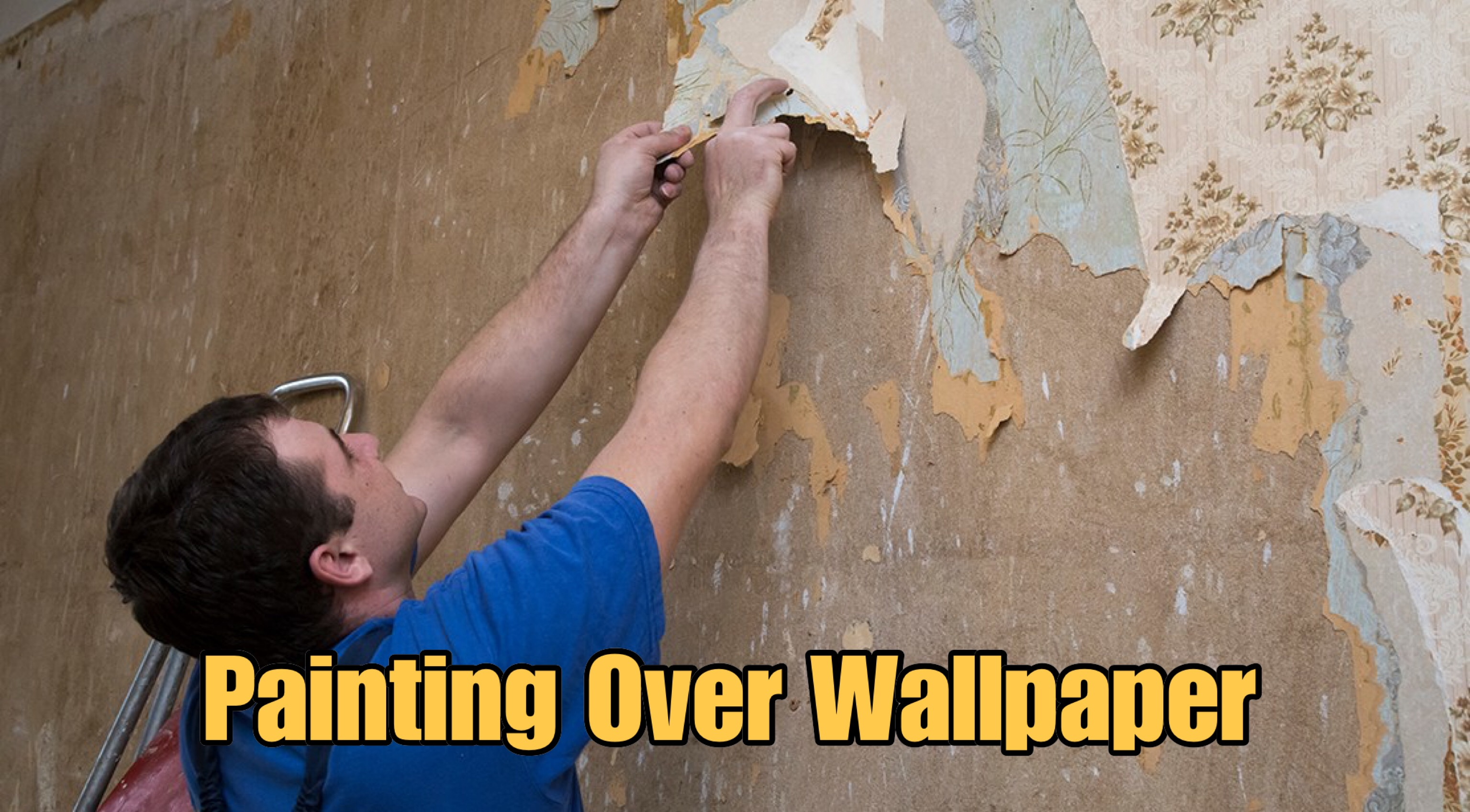 What Is The Best Way To Paint Over Wallpaper? - Paint Amigo